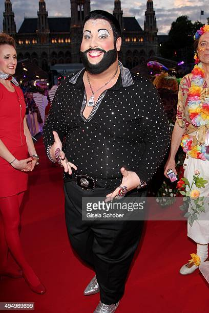 Harald Gloeckler look a like attends the Life Ball 2014 at City Hall on May 31, 2014 in Vienna, Austria.
