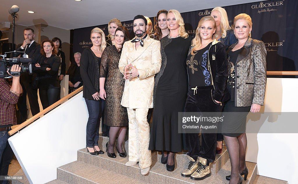 Harald Gloeoeckler presents new collection for Ulla Popken on October 29, 2013 in Hamburg, Germany.
