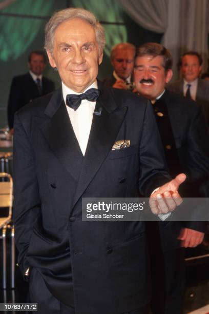 Harald Juhnke attends the 'Karl Moiks Birthday Gala' June 1998 in Germany