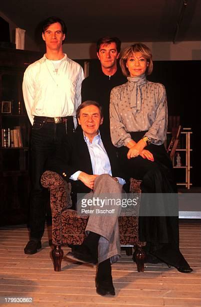 """Harald Juhnke, Benedict Freitag, Rudolf;Bissegger, Judy Winter, """"Eines langen;Tages Reise in die Nacht"""" Theaterstück"""