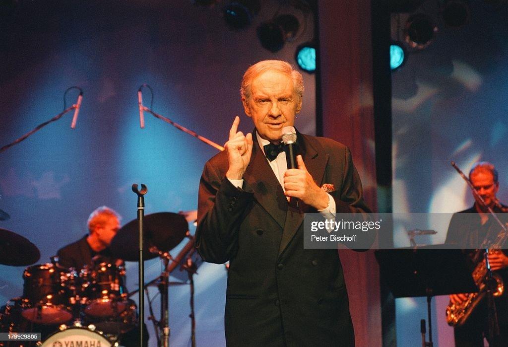 Harald Juhnke, H a r a l d J u h n k e Konzert, Berlin, Deutschl : Nachrichtenfoto
