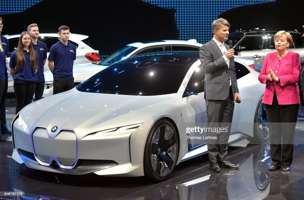 The Ceo Of German Car Maker Bmw Harald Krueger C Talks With C R