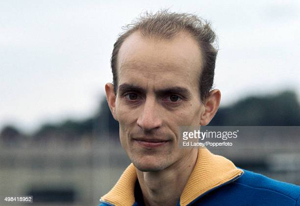 Harald Norpoth of West Germany after winning the men's 1500 metres event during an athletics meet at Crystal Palace in London on 30th August 1971