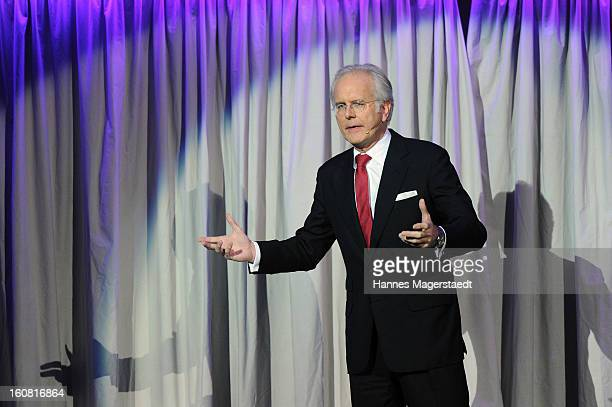 Harald Schmidt attends the Best Brands 2013 Gala at Bayerischer Hof on February 6 2013 in Munich Germany