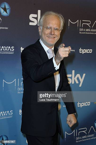 Harald Schmidt attends the Mira Award 2013 at Station on January 24, 2013 in Berlin, Germany.