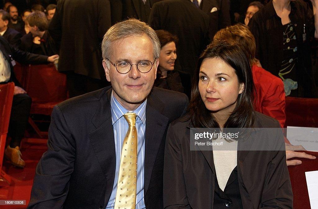 Harald Schmidt, Lebensgefährtin Ellen Hantzsch ...