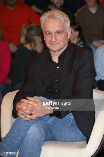Harald Schneider during the 'Markus Lanz' TV show on February 18 2019 in Hamburg Germany