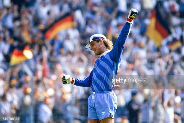 Harald Schumacher of West Germany during the Football European Championship between West Germany and Romania Lens France on 17 June 1984