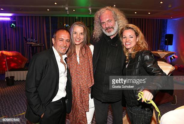 Harald Siebler and Anja Dihrberg Erdogan Atalay and his girlfriend Katja Ohneck during the surprise party for Erdogan Atalay's 50th birthday at Hotel...