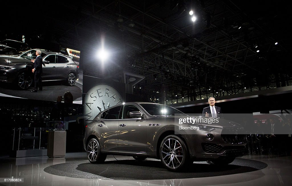 Inside The 2016 New York International Auto Show (NYIAS) : News Photo