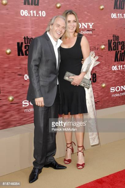 Harald Zwart and Veslemoy Ruud Zwart attend PREMIERE OF COLUMBIA PICTURES THE KARATE KID at Mann's Village Theatre on June 7 2010 in Westwood...