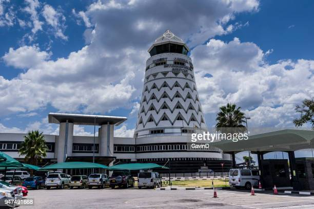 harare airport zimbabwe. named robert gabriel mugabe - zimbabwe stock pictures, royalty-free photos & images