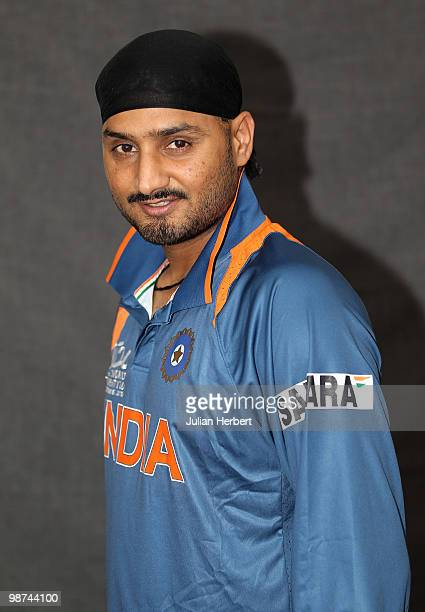 Harbhajan Singh of The Indian T20 squad poses for a portrait on April 29 2010 in Gros Islet Saint Lucia