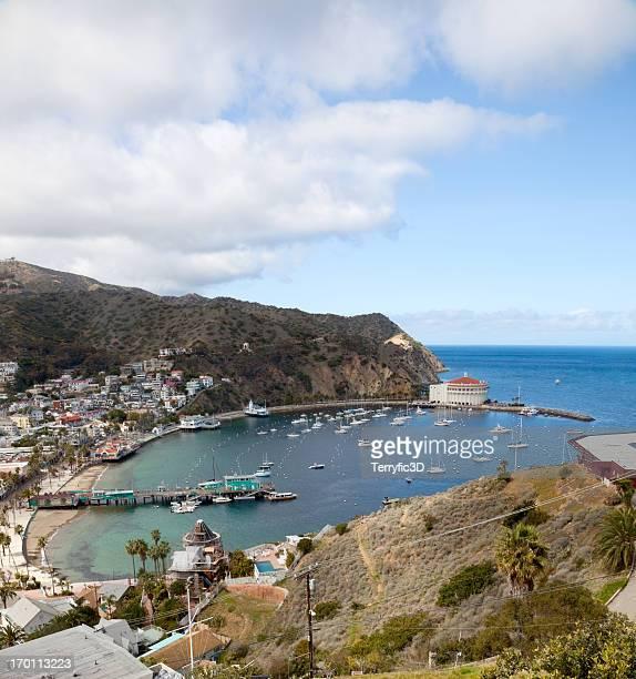Harbor at Avalon, Catalina Island