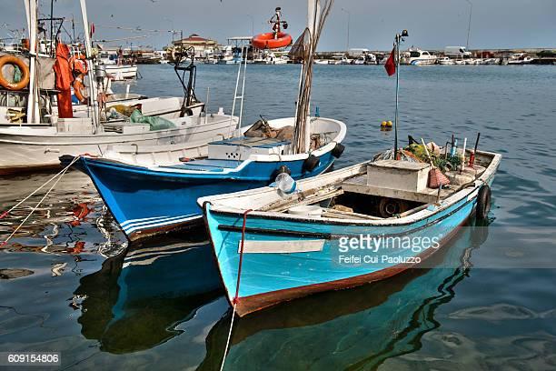 Harbor at Sinop in Turkey