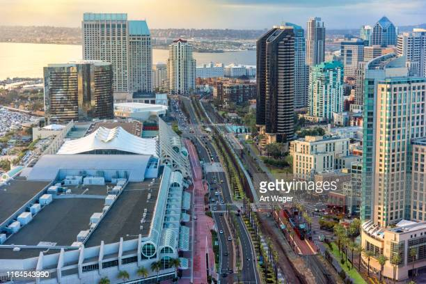 harbor drive san diego - san diego stock pictures, royalty-free photos & images