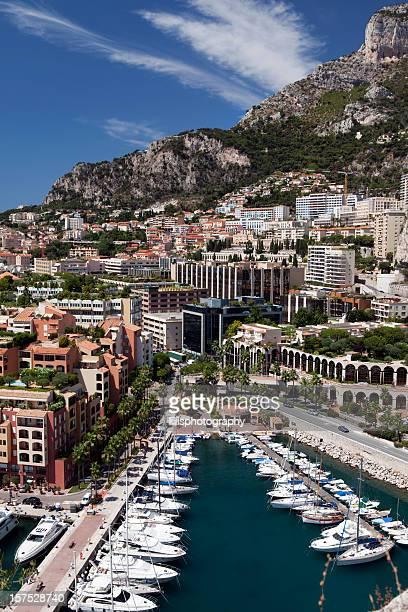 Harbor in Monaco