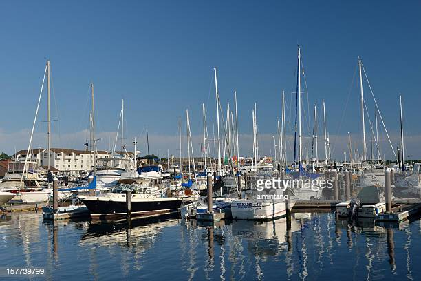 harbor in newport - newport rhode island stock pictures, royalty-free photos & images