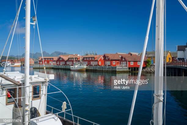 Harbor in Svolvaer, Norway