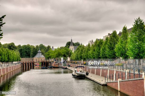 harbor of breda - the netherlands - breda stock pictures, royalty-free photos & images