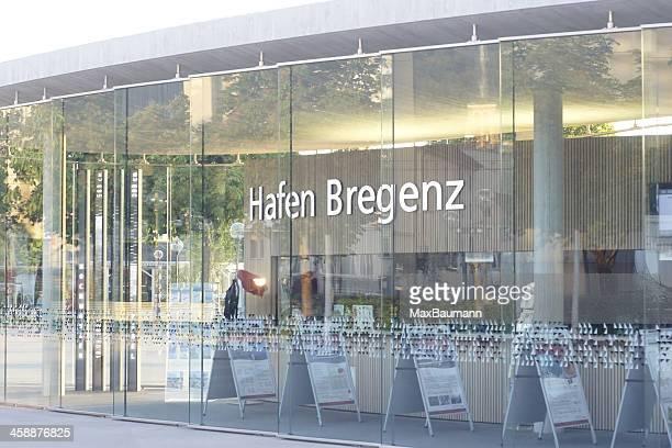harbor of bregenz - bregenz stockfoto's en -beelden