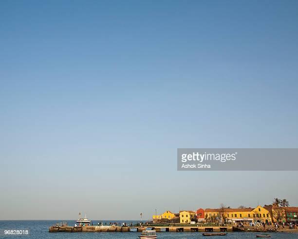 Harbor of Ile de Goree, Senegal