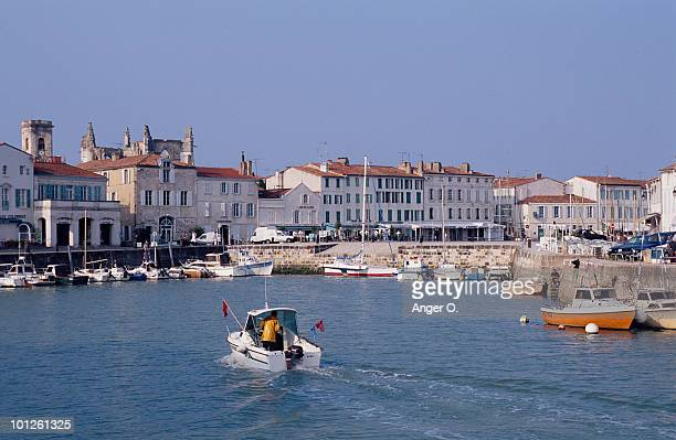 Harbor of Ile de Re, Charente-Maritime, France