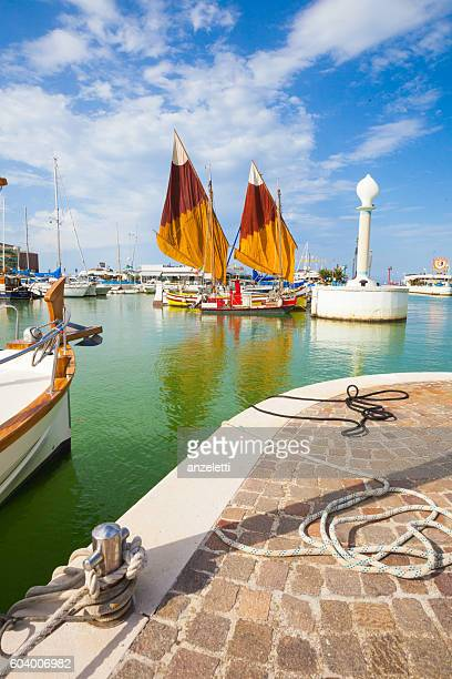 Harbor of Riccione, Italy