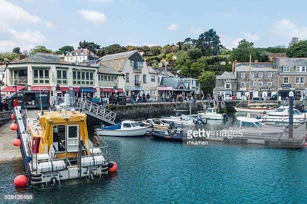 Harbor, Padstow, Cornwall, England, UK