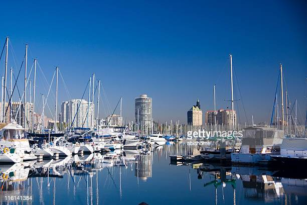 harbor - long beach california stock photos and pictures