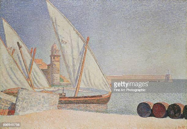 Harbor Scene by Paul Signac