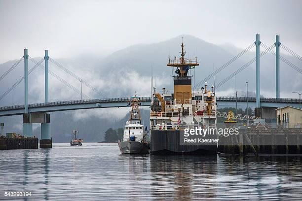 Harbor scene of Sitka Alaska