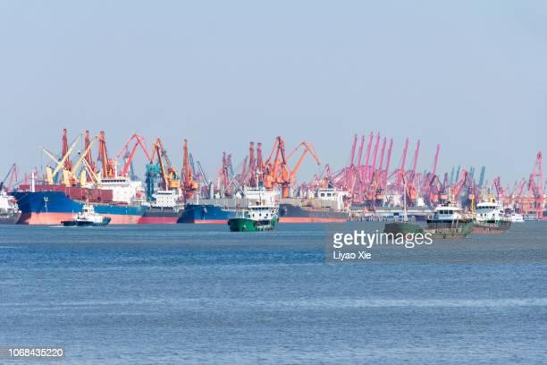Harbor seascape