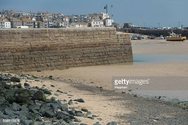 harbor, st ives, cornwall, england, uk - st ives stock pictures, royalty-free photos & images