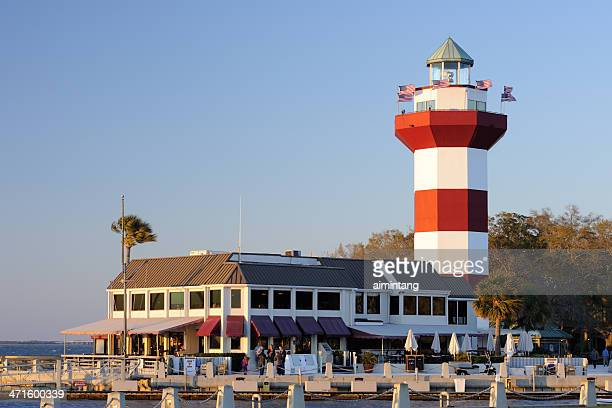 harbor town - hilton head stock pictures, royalty-free photos & images