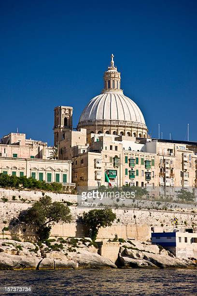 harbor valetta malta - mlenny stock pictures, royalty-free photos & images