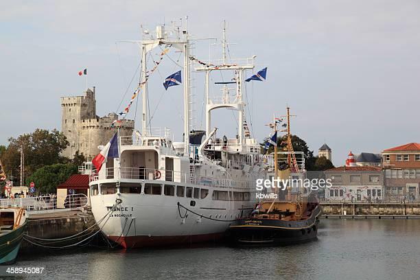 harbour and maritime museum la rochelle france - la rochelle stock pictures, royalty-free photos & images