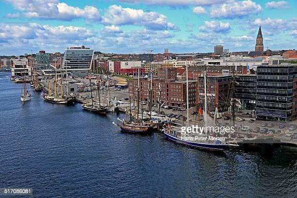 harbour and Sartorikai, Kiel, Germany