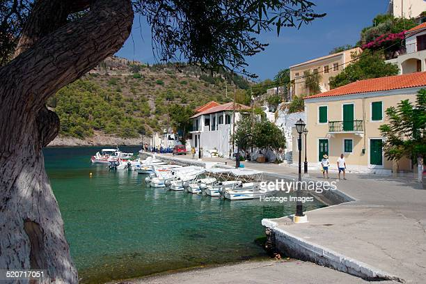 Harbour Assos Kefalonia Greece