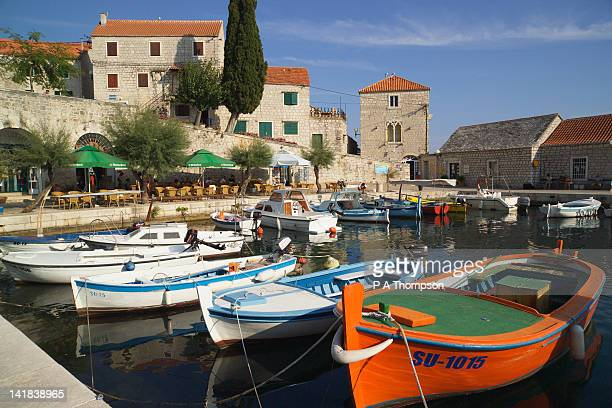 Harbour at Bol, Island of Brac, Dalmatia, Croatia