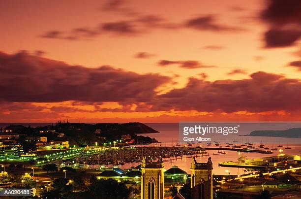 Harbour at Sunset, Noumea, New Caledonia