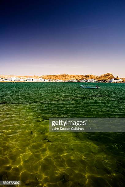 harbour at sur - arabian peninsula stock pictures, royalty-free photos & images