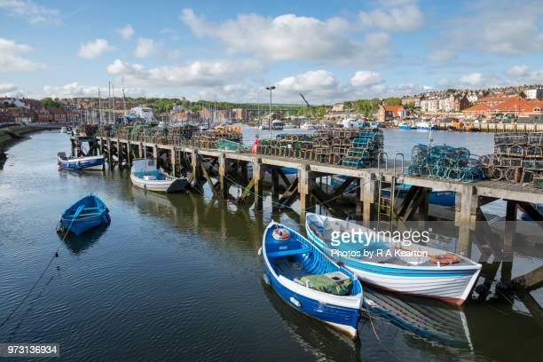 Harbour at Whitby, North Yorkshire, England