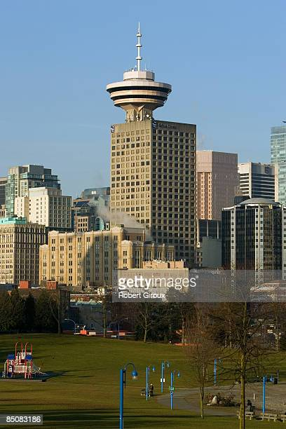 Harbour Center tower is pictured February 18 2009 in Vancouver British Columbia Canada Vancouver is the host city for the 2010 Winter Olympic Games...