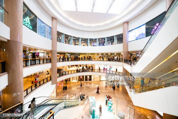 harbour city, hong kong shopping mall - shopping mall stock pictures, royalty-free photos & images