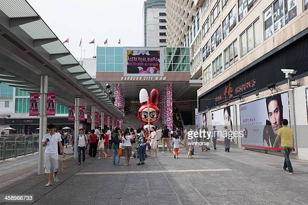 harbour city in hong kong - fashion hong kong stock photos and pictures