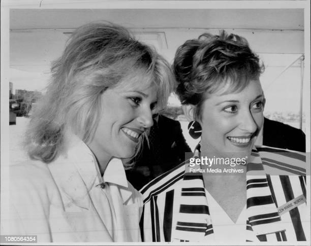 Harbour Cruise on Sun Goddess Gloria Krope and GlenMarie North February 27 1986