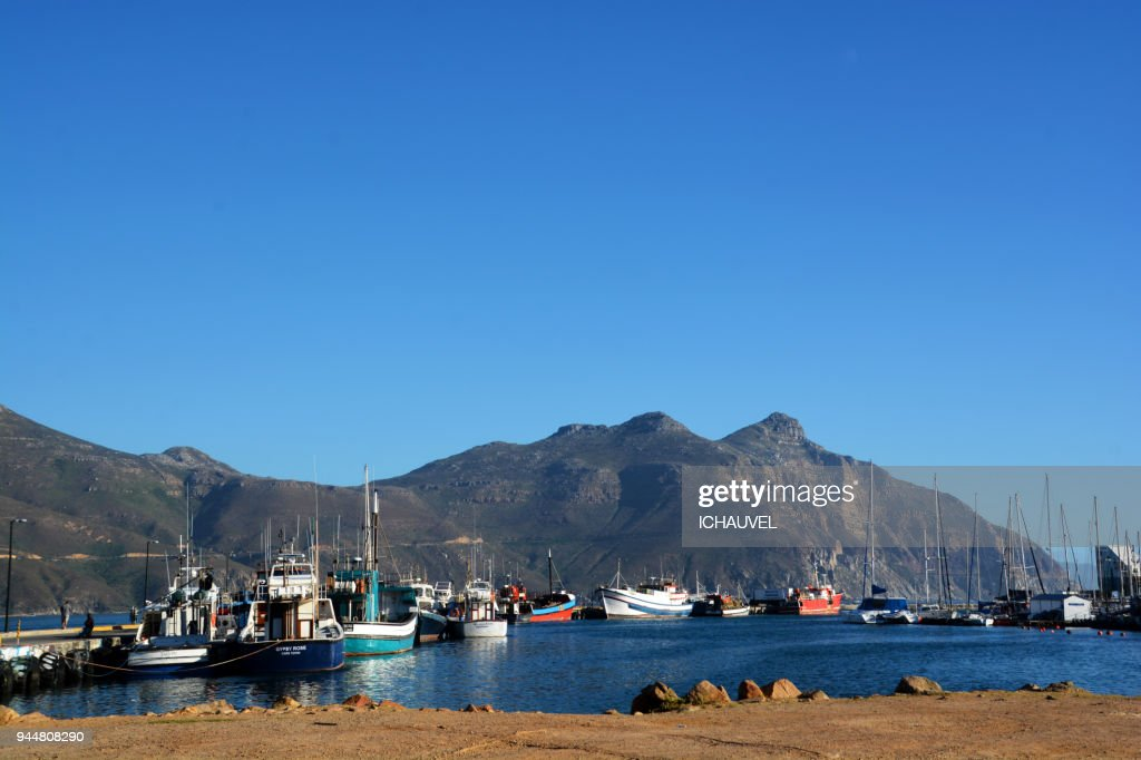 Harbour Houtbay South Africa : Stock Photo