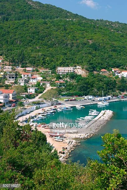 Harbour of Poros Kefalonia Greece