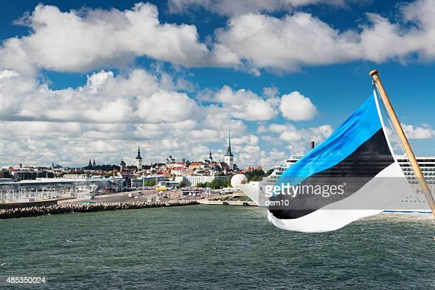 harbour of tallinn, estonia - estonia stock pictures, royalty-free photos & images